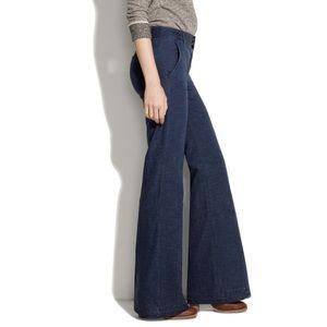 Madewell Widelegger Jeans in Explorer Wash